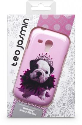 Puzdrá a kryty Bigben Kryt pre Samsung Galaxy SIII mini Teo Queen,růžová