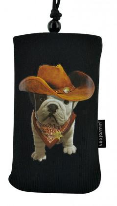 Puzdrá a kryty Bigben univerzálné puzdro na krk Teo Cowboy, čierna