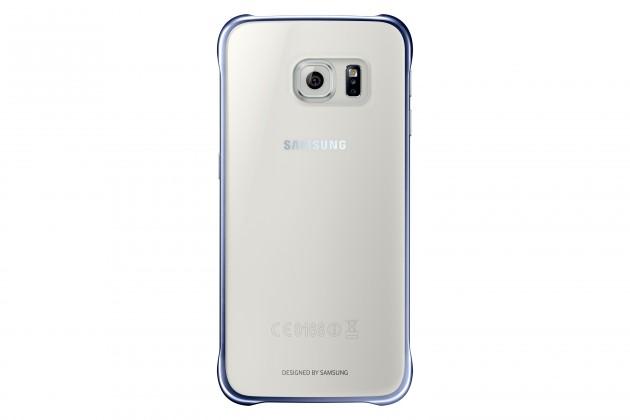 Puzdrá a kryty EF-QG920BBE Samsung Zadný Kryt Clear Black