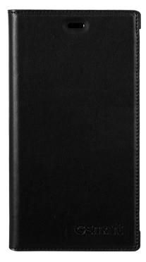 Puzdrá a kryty Gigabyte kožené flip puzdro pre Guru GX, čierna