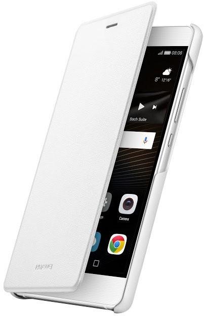 Puzdrá a kryty Huawei flip puzdro Original Folio pre P9 Lite, biela
