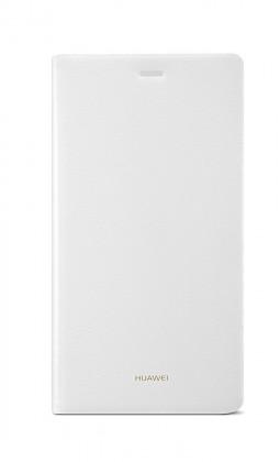 Puzdrá a kryty Huawei flip puzdro pre Huawei P8, biela