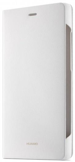 Puzdrá a kryty Huawei flip puzdro pre Huawei P8 Lite, biela