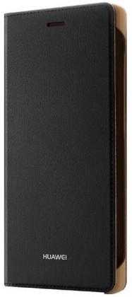 Puzdrá a kryty Huawei flip puzdro pre Huawei P8 Lite, čierna