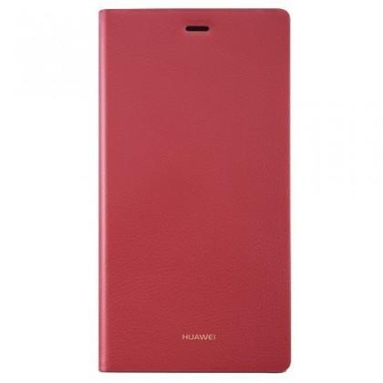 Puzdrá a kryty HUAWEI flipové puzdro pre Huawei P8 Lite, červená