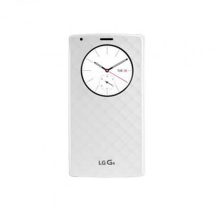 Puzdrá a kryty LG flip puzdro pre LG G4, biela