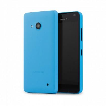 Puzdrá a kryty MOZO zadný kryt pre Lumia 550 Modrá