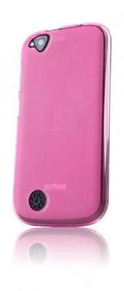 Puzdrá a kryty myPhone silikónové puzdro pre telefón S-Line - ružové
