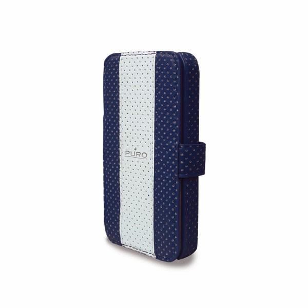 Puzdrá a kryty Puro puzdro Golf iPhone 4/4s tm. modré