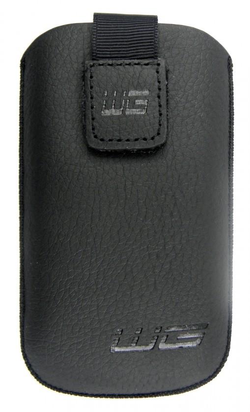 Puzdrá a kryty Puzdro BS KK čierne N C7/E71/6681/Lumia 710/N9 SAM S8500 Wave/I9