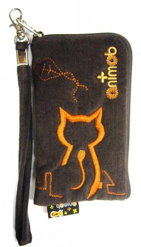 Puzdrá a kryty Puzdro Cat 7 - brown