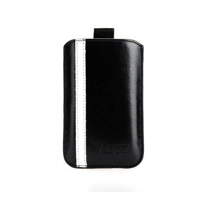 Puzdrá a kryty Puzdro čierne line Sam Galaxy S III/Galaxy S IV