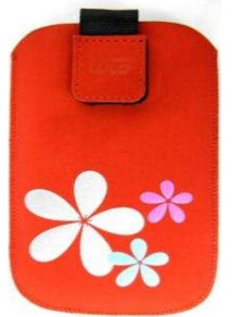 Puzdrá a kryty Puzdro KV2 3D red iPhone 3G/iPhone 4/iPhone 4S N C6/E5/ORO/Lumi