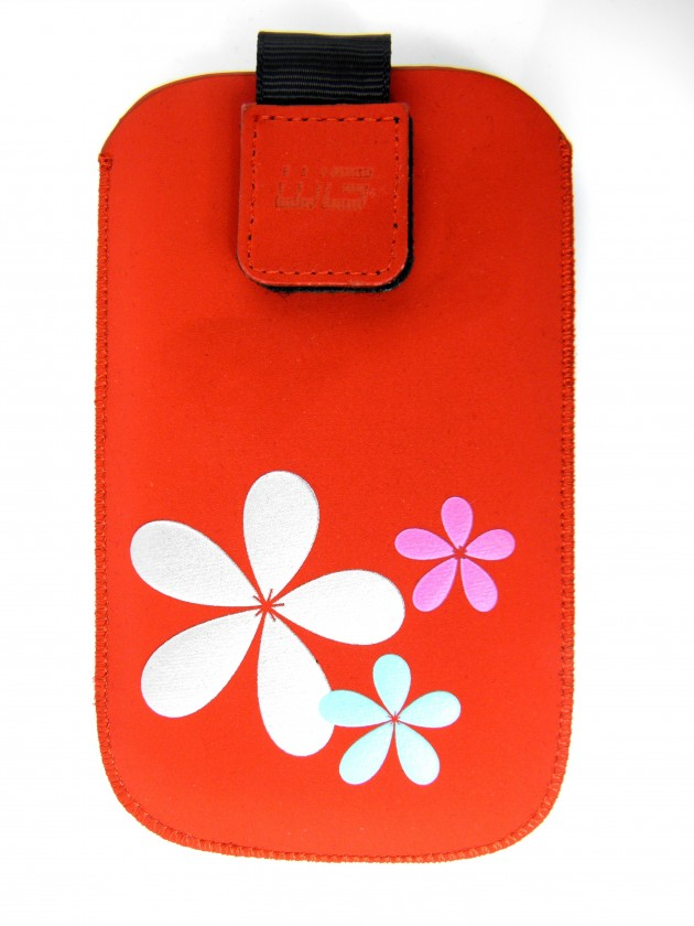 Puzdrá a kryty Puzdro KV2 3D red N C7/E71/6681/Lumia 710/N9 SAM S8500 Wave/I90