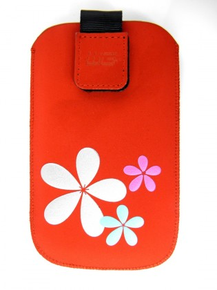 Puzdrá a kryty Puzdro KV2 3D red Sam i9100 Galaxy S II/S5690 Galaxy Xcover NIE