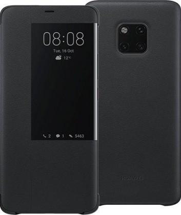 Puzdrá a kryty Puzdro pre Huawei MATE 20 PRO s displejom, čierna