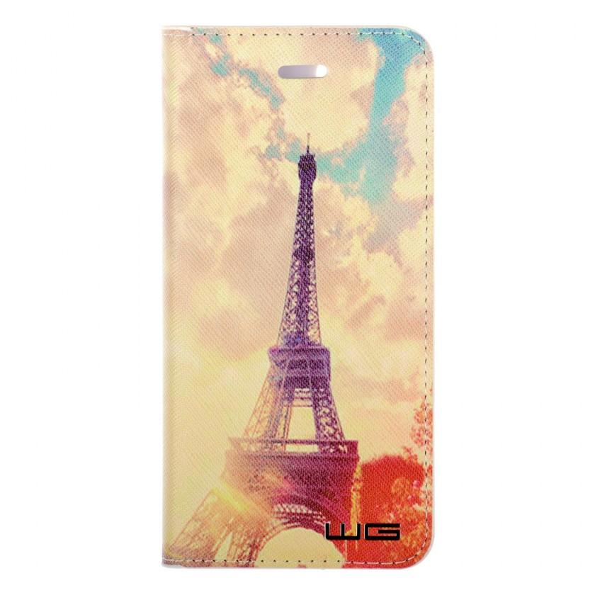 Puzdrá a kryty Puzdro pre Huawei P20, Eiffelova veža