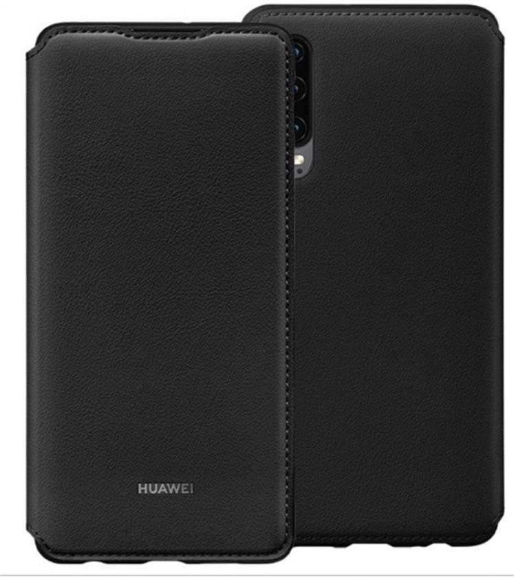 Puzdrá a kryty Puzdro pre Huawei P30, čierna