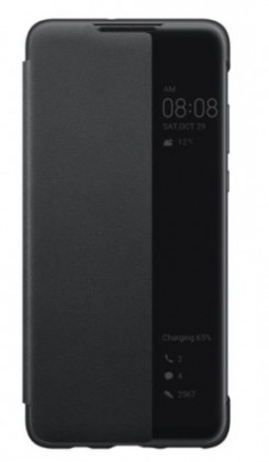 Puzdrá a kryty Puzdro pre Huawei P30 LITE Smart View, čierna