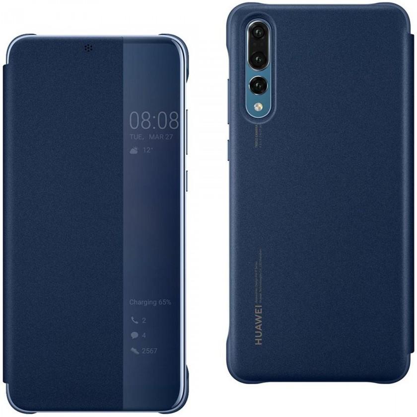 Puzdrá a kryty Puzdro pre Huawei P30 LITE Smart View, modrá