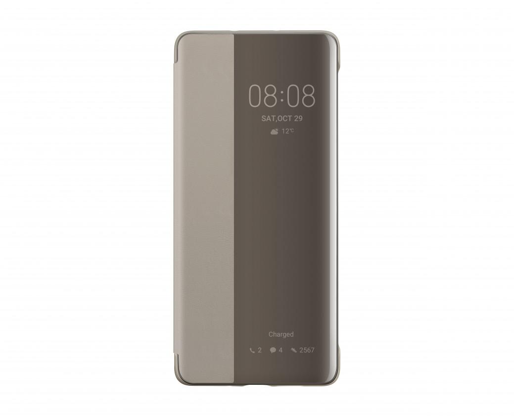 Puzdrá a kryty Puzdro pre Huawei P30 PRO Smart View, khaki