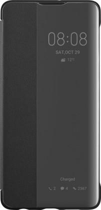 Puzdrá a kryty Puzdro pre Huawei P30 Smart View, čierna
