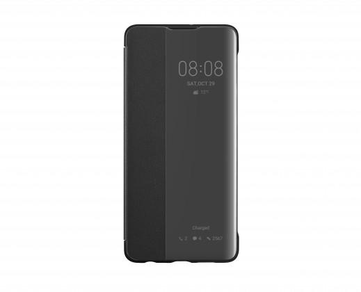 Puzdrá a kryty Puzdro pre Huawei P30, Smart View, čierna