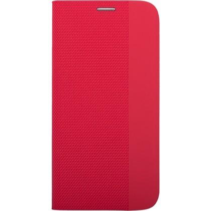 Puzdrá a kryty Puzdro pre Samsung Galaxy A71, Flipbook Duet, červená