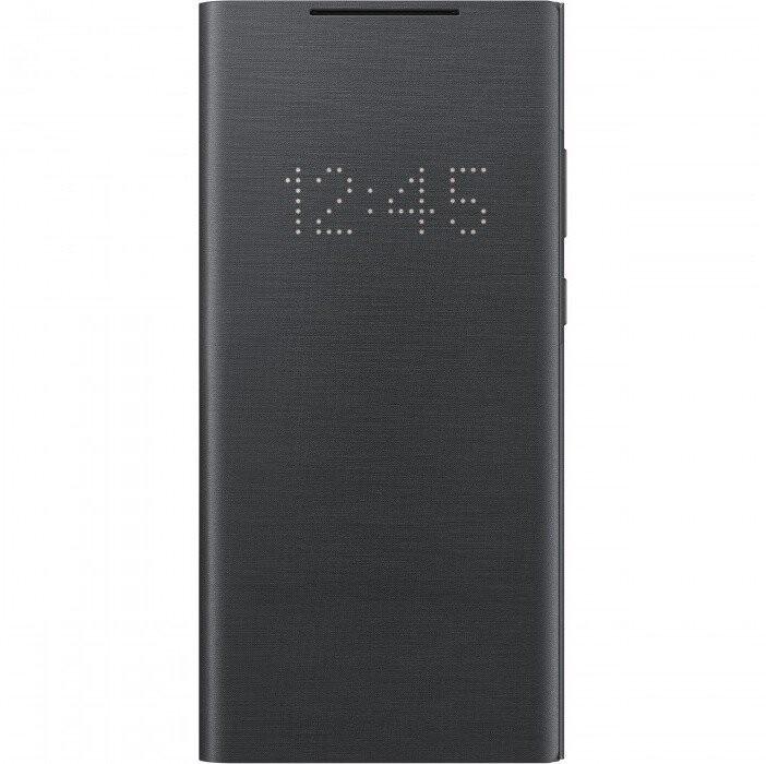 Puzdrá a kryty Puzdro pre Samsung Galaxy Note 20, LED view flip, čierna
