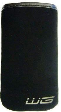 Puzdrá a kryty Puzdro Semiš čierne SAM Omnia HD/Omnia HD2 HTC Desire Z N N8 SE-