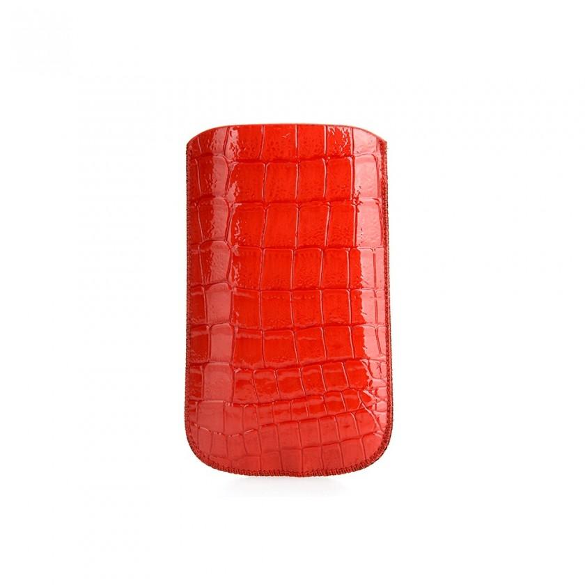 Puzdrá a kryty Puzdro snake red SE - K800/C702/K550/U5i Vivaz/W20 Zylo/E15i Xp