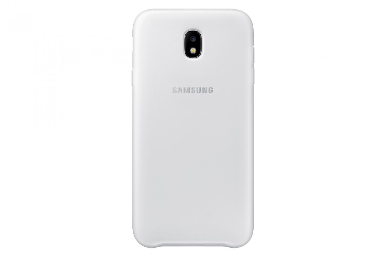 Puzdrá a kryty Samsung Dual Layer Cover J7 2017,  white