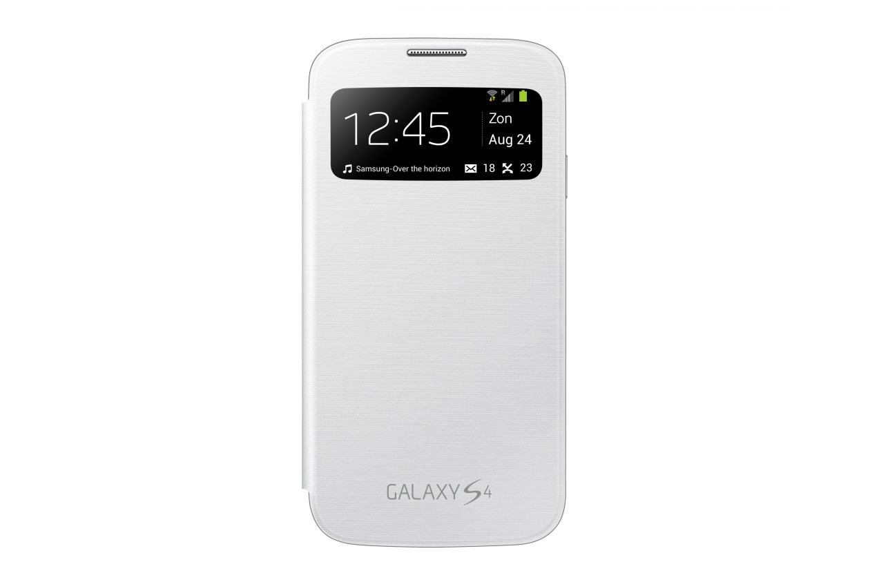Puzdrá a kryty Samsung EF-CI950BW puzdro, biele