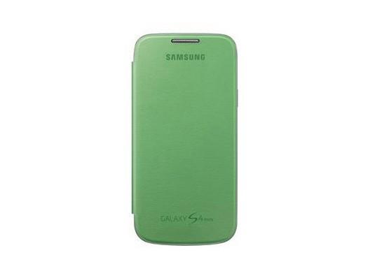Puzdrá a kryty Samsung EF-FI919BG Galaxy S4 mini puzdro, zelené