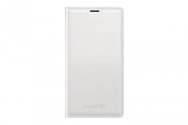 Puzdrá a kryty Samsung EF-WG900BB Galaxy S5 puzdro s kapsou, čierne