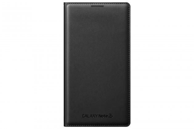 Puzdrá a kryty Samsung EF-WN900BB Galaxy Note3 puzdro, čierne
