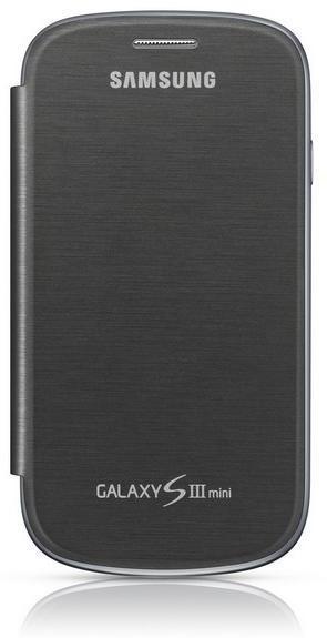 Puzdrá a kryty Samsung EFC-1M7F flipový kryt, šedý