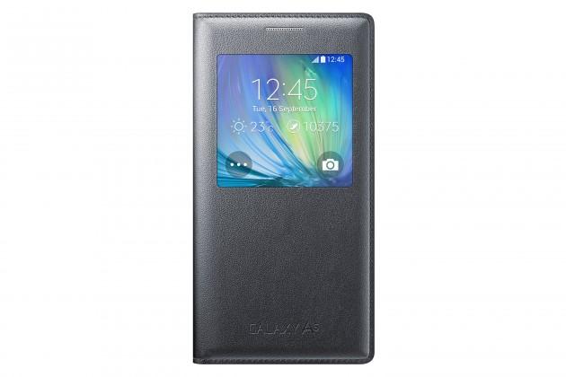 Puzdrá a kryty Samsung flip puzdro pre Samsung Galaxy A5, biele