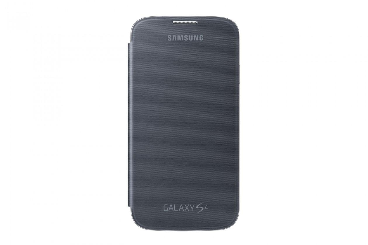 Puzdrá a kryty Samsung flip puzdro pre Samsung Galaxy S4, čierna