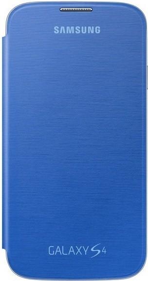 Puzdrá a kryty Samsung flip puzdro pre Samsung Galaxy S4, modrá