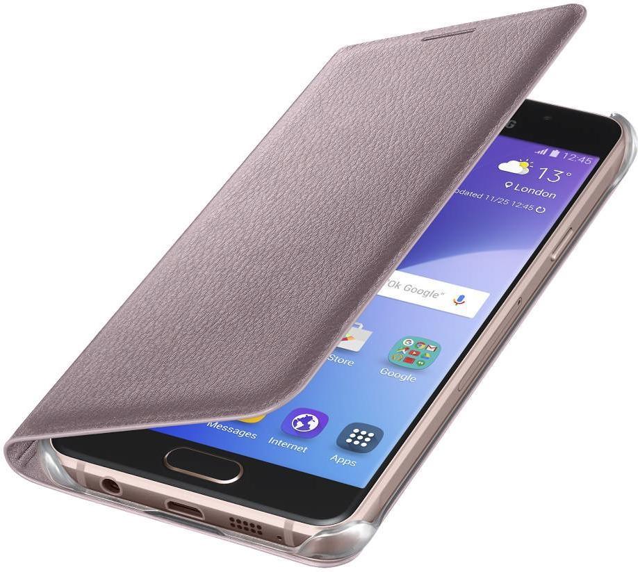 Puzdrá a kryty Samsung flipové puzdro pre Galaxy A3, ružová