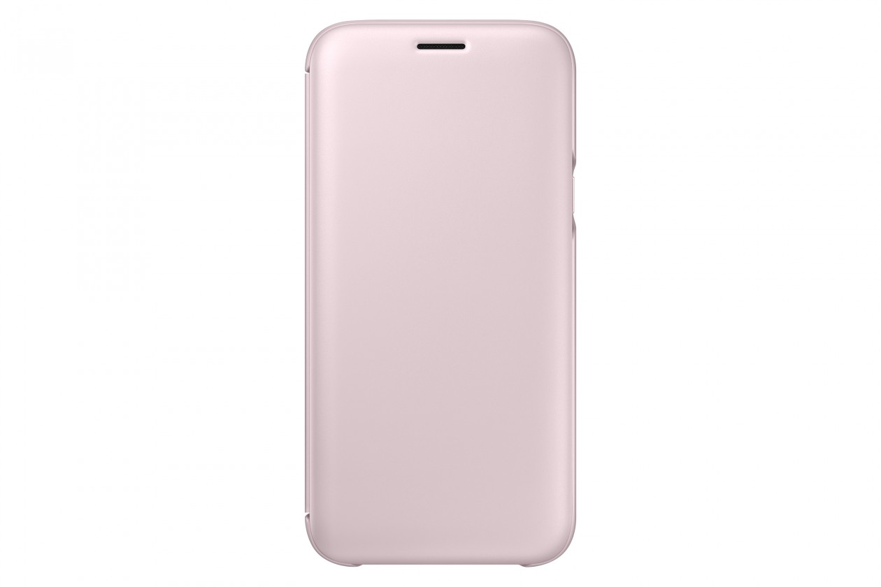 Puzdrá a kryty Samsung Wallet Cover J5 2017,  pink