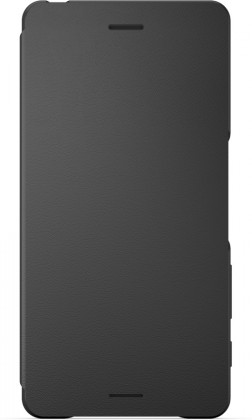 Puzdrá a kryty Sony flipové puzdro pre Sony Xperia X, čierna