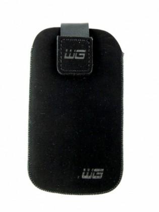 Puzdrá a kryty Univerzálne púzdro pre telefón, malé, vsuvka, čierna