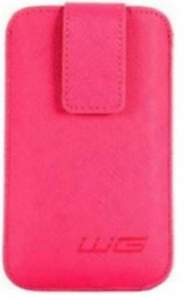 Puzdrá a kryty Univerzálne púzdro pre telefón WG Pure, vsuvka, 88x158mm, ružová