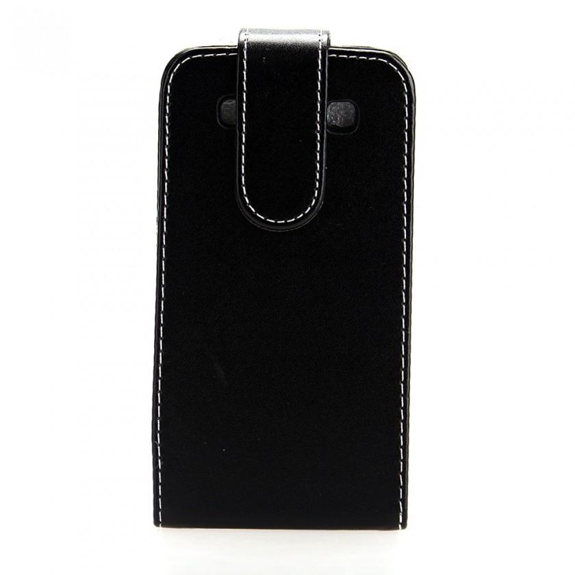 Puzdrá a kryty Winner group flip puzdro pre Samsung Galaxy Note 2, čierna
