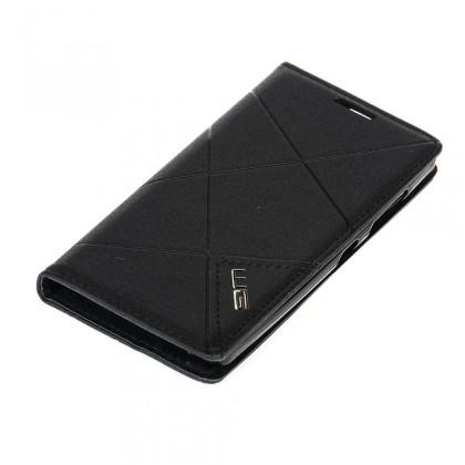Puzdrá a kryty Winner Group flipové puzdro pre Huawei P9, čierna