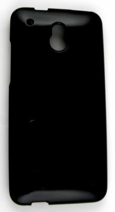 Puzdrá a kryty Winner Group gelskin + fólia pre HTC One Mini, čierna