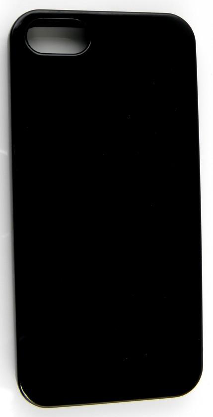Puzdrá a kryty Winner Group gelskin + fólia pre iPhone 5, čierna