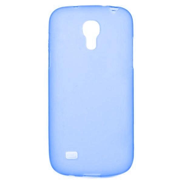 Puzdrá a kryty Winner Group gelskin + fólia pre Sam Galaxy S4 mini, modrá